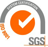 SGS ISO 9001 System Certification